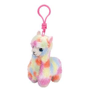 Ty Beanie Boo Lola the Llama Keyring Clip 0aaf63afb872