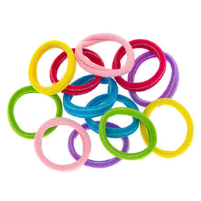 Claire's Club Neon Hair Ties - 12 Pack,