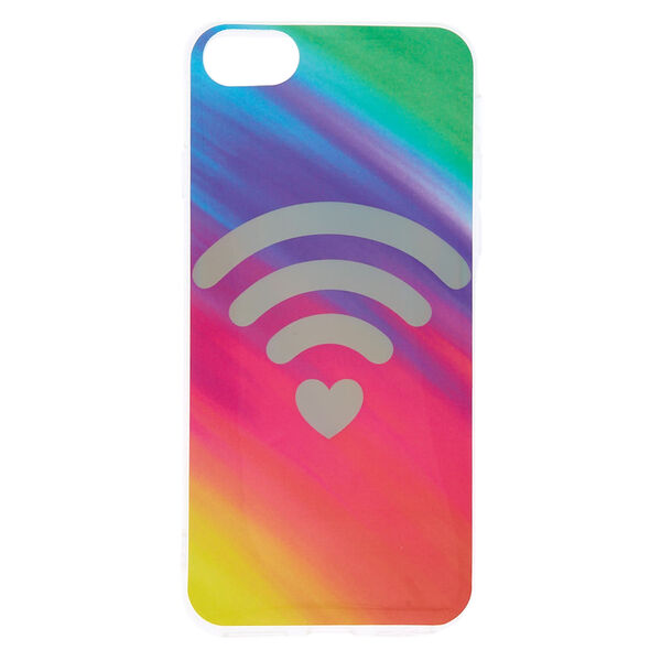 Claire's - heart wi-fi phone case - 1