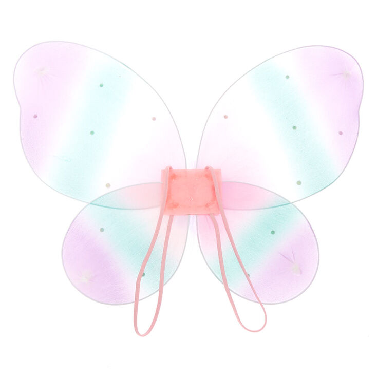 Claire's Club Pastel Glitter Wings,