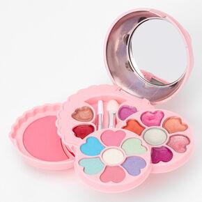 Palette compacte de maquillage cupcake rose,