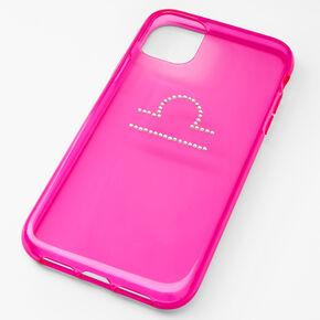 Pink Libra Zodiac Phone Case - Fits iPhone® 11,