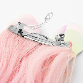 Claire's Club Butterfly Ombre Faux Hair Clip,