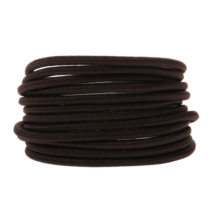 Jumbo Hair Bobbles - Brown, 12 Pack,