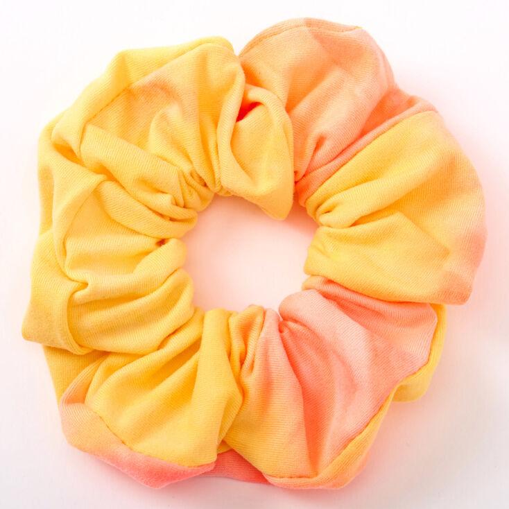 Medium Sunset Tie Dye Hair Scrunchie,