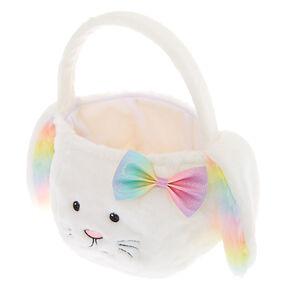 Bunny Easter Basket - White,