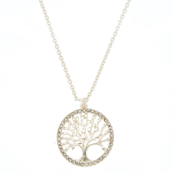 Claire's - tree of life pendant necklace - 1