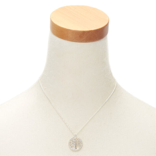 Claire's - tree of life pendant necklace - 2
