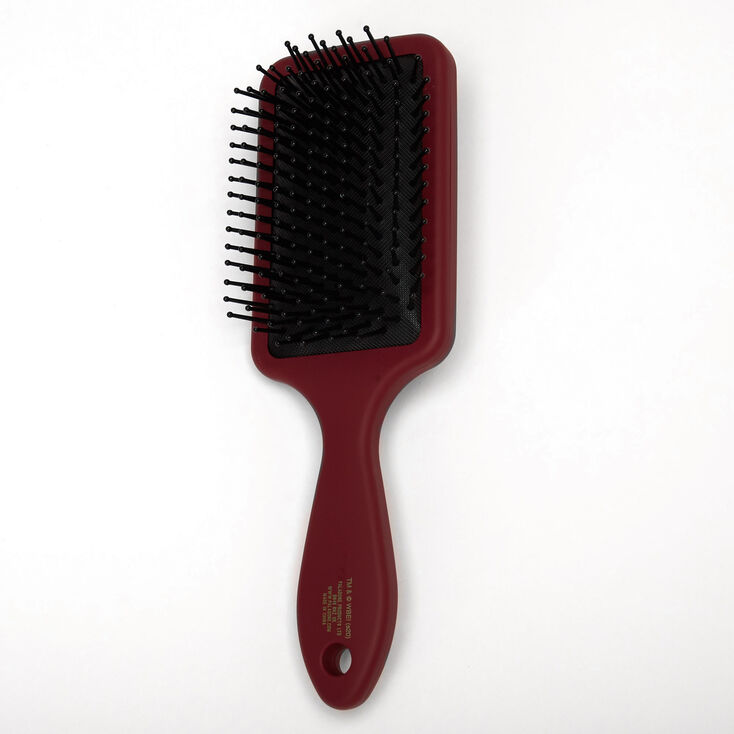 Harry Potter™ Hogwarts Paddle Hair Brush – Burgundy,