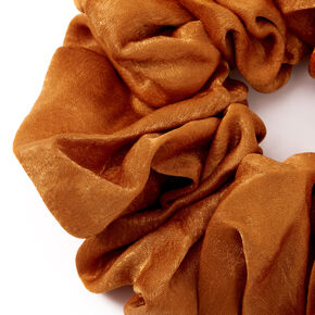 Giant Hair Scrunchie - Copper,