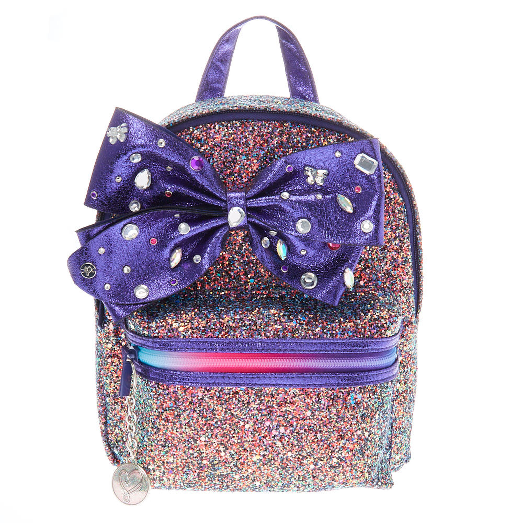 3b2f9898b95 JoJo Siwa trade  Cake Glitter Backpack - Purple ...
