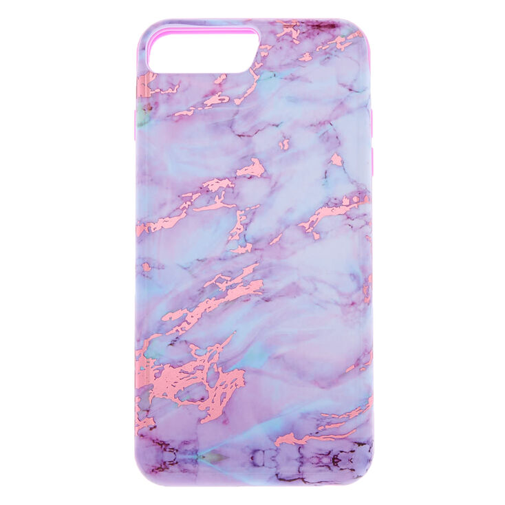 official photos bd389 bc6e6 Marble Protective Phone Case - Fits iPhone 6/7/8 Plus
