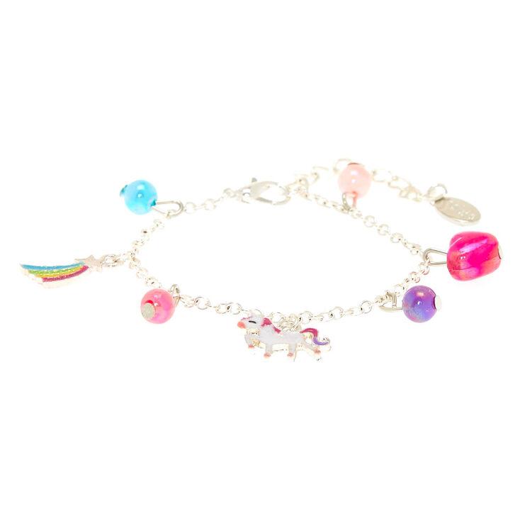 f538b541d Claire's Club Unicorn Charm Bracelet | Claire's