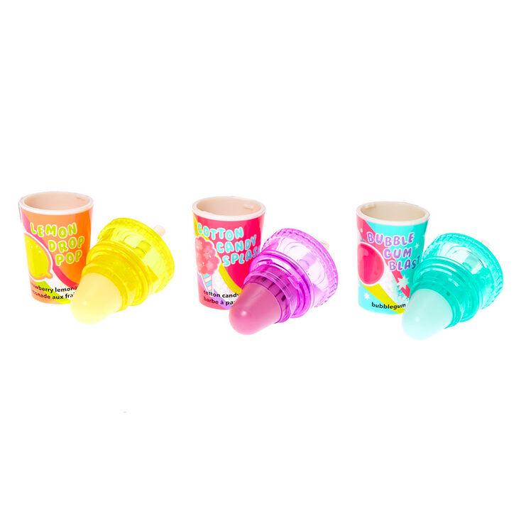 Candy Shaker Soda Pop Lip Balm Set - 3 Pack,