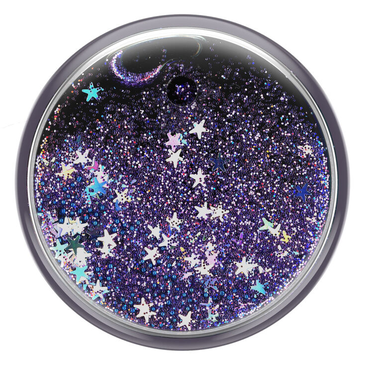 PopSockets Swappable PopGrip - Tidepool Galaxy Purple,