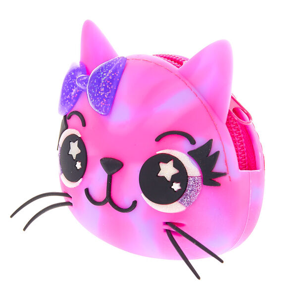 Claire's - sleepy the cat jelly coin purse - 2