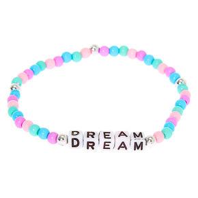 Pastel Dream Beaded Stretch Bracelet,