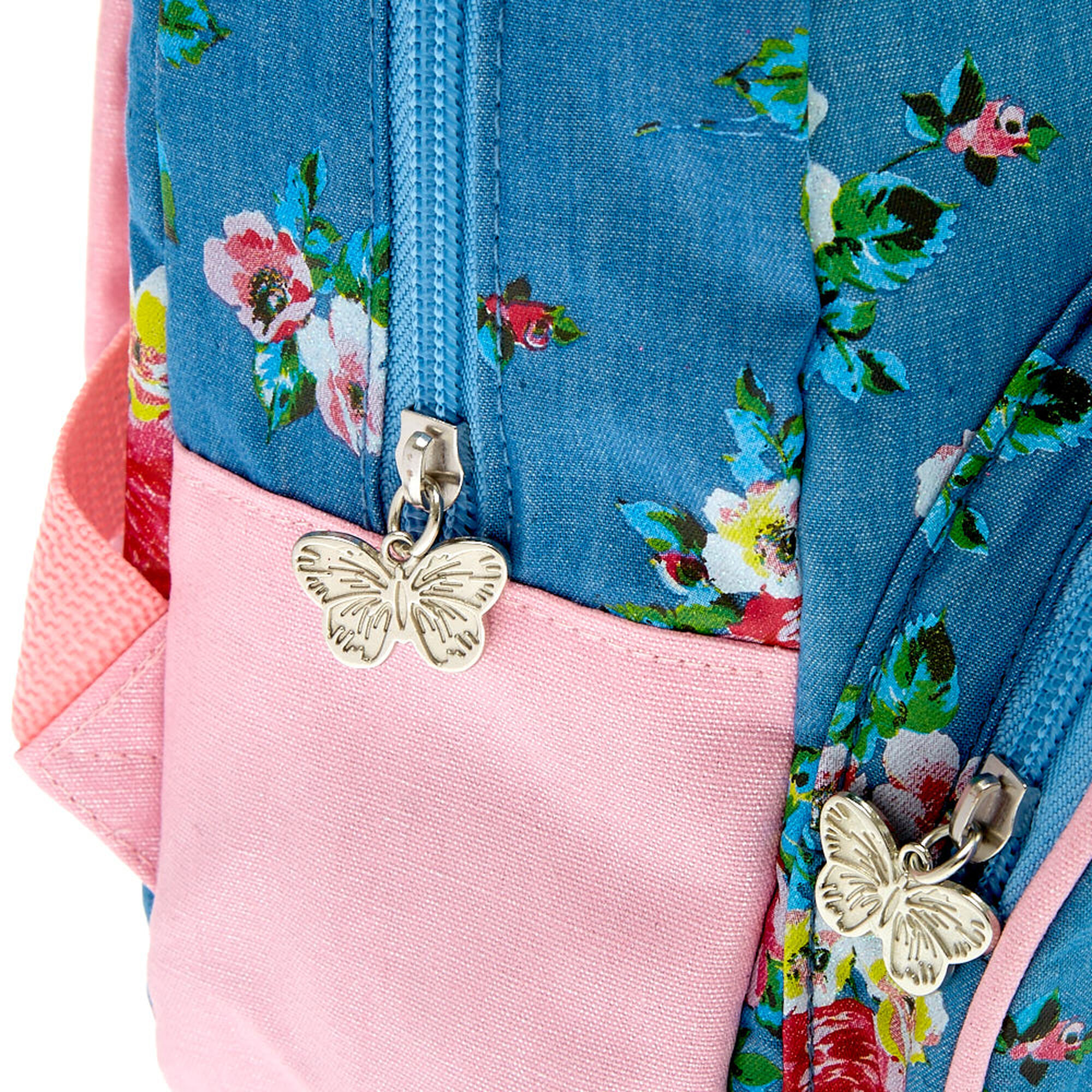 Blue And Pink Flower Backpack Fenix Toulouse Handball