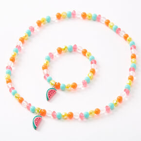 Claire's Club Beaded Watermelon Jewellery Set - 2 Pack,