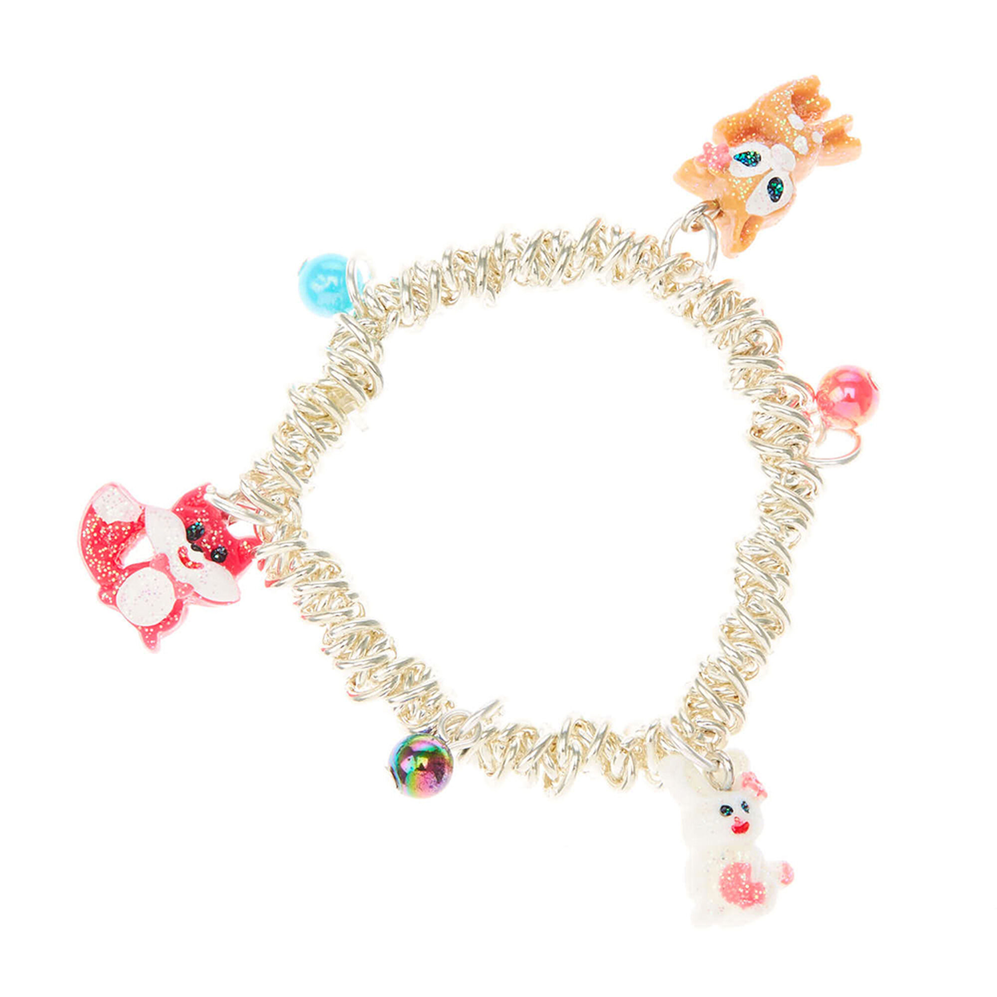 necklace charm sets simulated baby beaded pearl girl set ring bracelet smiling jewelry resin kid lovely
