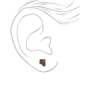 S'mores Stud Earrings - 3 Pack,