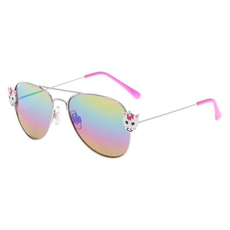 1f8c98b0a2 Claire  39 s Club Unicorn Aviator Sunglasses