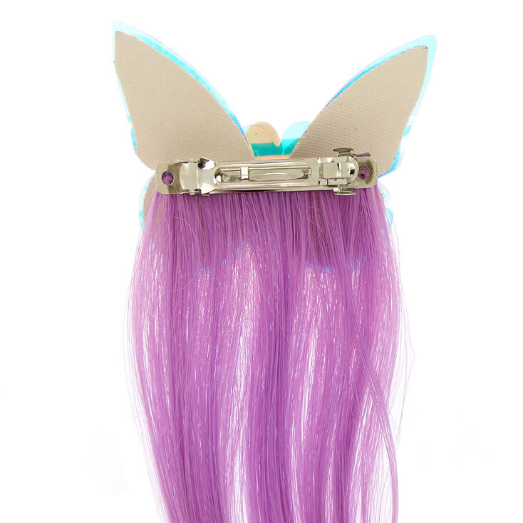 Claire's Club Butterfly Faux Hair Clip,
