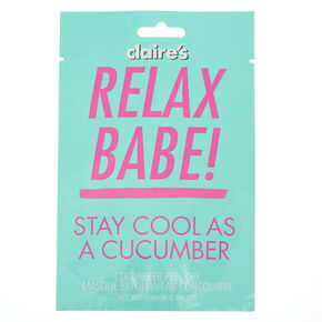 Go to Product: Cool As a Cucumber Peel-Off Mask from Claires