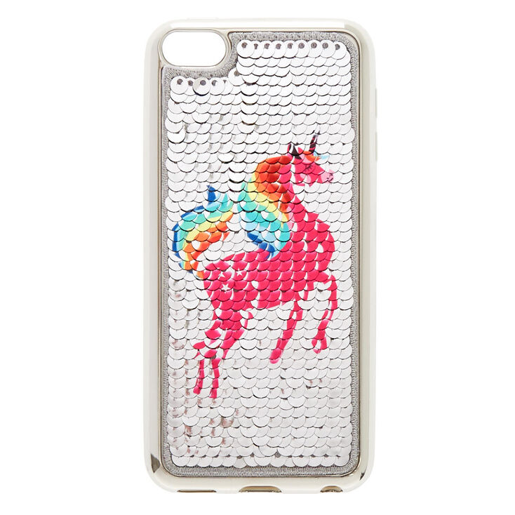 buy popular 4166f 34b13 Rainbow Unicorn Reverse Sequin iPod® Touch Case