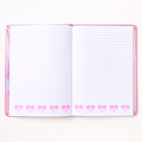 Miss Glitter the Unicorn Metallic Journal - Pink,