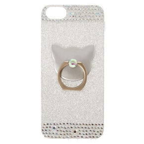 e6ef6bbd50f Cat Glam Ring Holder Phone Case - Fits iPhone 5/5S/SE