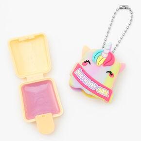 Pucker Pops® Birthday Girl Unicorn Lip Gloss - Marshmallow,