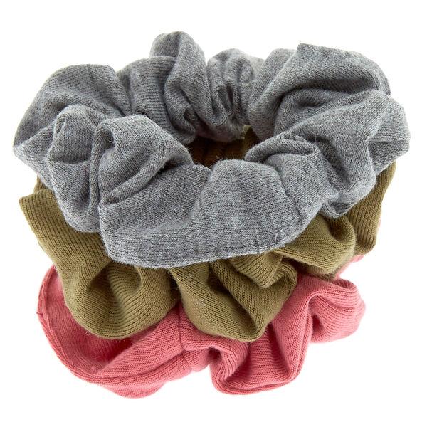 Claire's - fall neutral hair scrunchies - 2