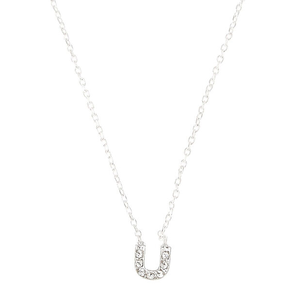 Claire's - u pendant necklace - 1