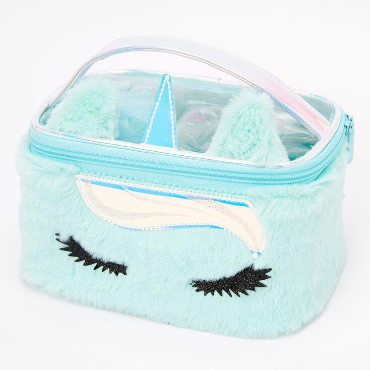 Miss Glitter the Unicorn Bath & Makeup Bag Set - Mint,