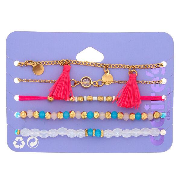 Claire's - bright summer bracelets - 1