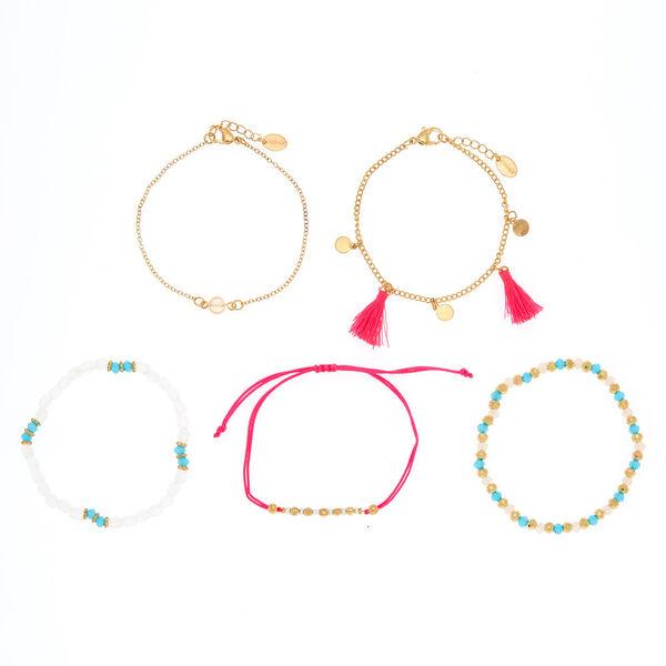 Claire's - bright summer bracelets - 2