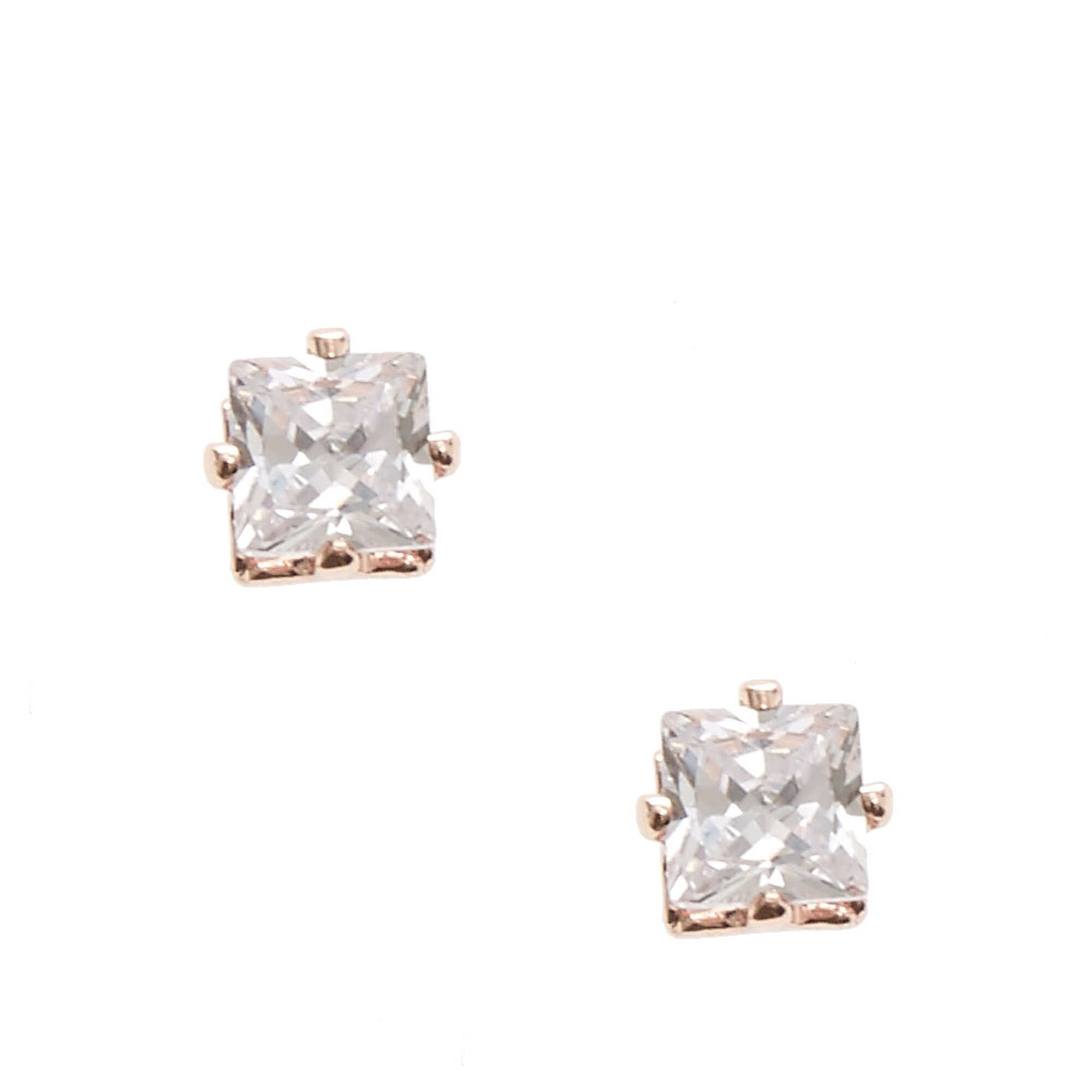 rsp gold com online main round zirconia ibb buyibb lewis johnlewis at stud cubic earrings john pdp