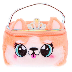Queenie the Corgi Makeup Bag - Orange,