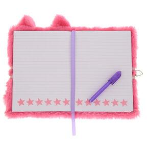 59e906b9a79 Sleepy the Cat Lock Plush Diary
