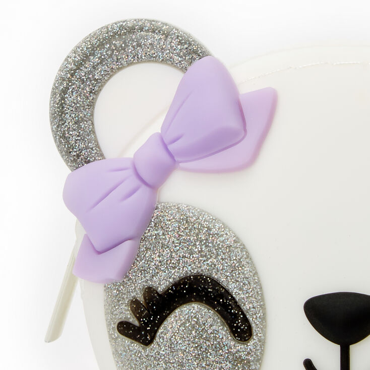 Panda Jelly Coin Purse – White,