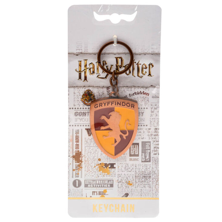 Claire\'s Harry Potter™ Gryffindor Metal Keyring - Copper