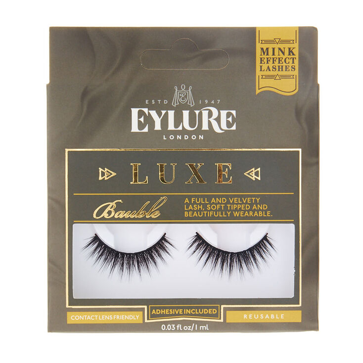 fda858e548e Eylure Luxe Bauble Faux Eyelashes | Claire's