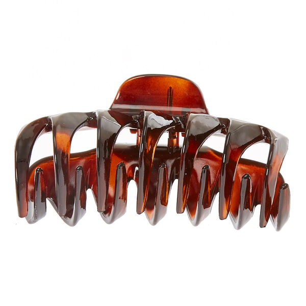 Claire's - tortoise shell hair bow clip - 2