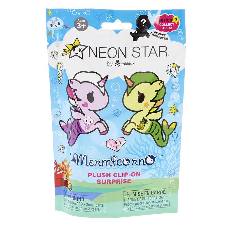 Neon Star by tokidoki Mermicorno Plush Clip On Blind Bag,