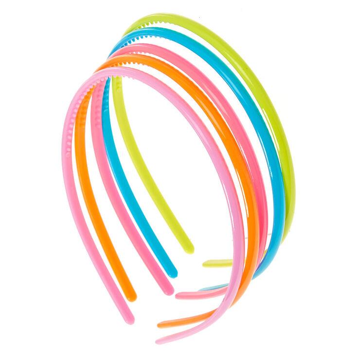 28344ee5366b Kids 5 Pack Neon Headbands