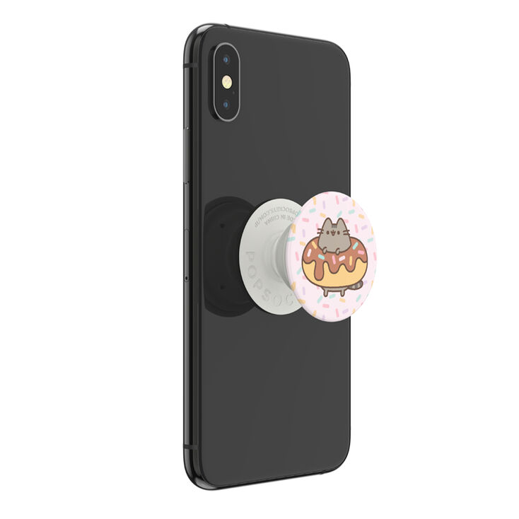 PopSockets Swappable PopGrip - Pusheen® Donut,