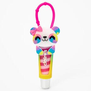 Tie Dye Panda Lip Gloss Tube,