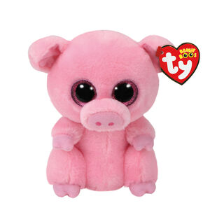 Ty Beanie Boo Small Posey the Pig Soft Toy,