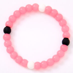 Glow In The Dark Dream Fortune Stretch Bracelet - Pink,